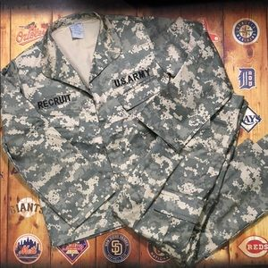Dress up Army recruit outfit